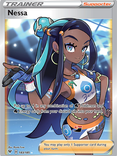 Nessa (Full Art) - 183/185 - Vivid Voltage