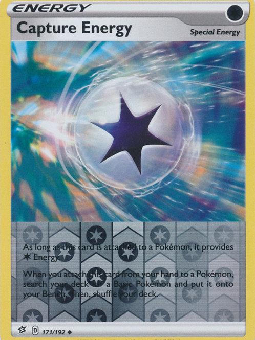 Pokemon SWSH Rebel Clash 171/192 Capture Energy (Reverse Holo)