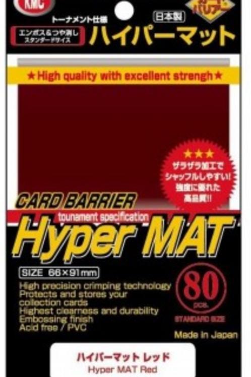 KMC HYPER MATT RED (80)