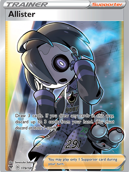 Allister (Full Art) - 179/185 - Vivid Voltage