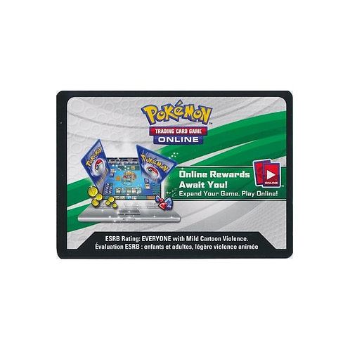 collector chest: Armoured Mewtwo, Pikachu, Charizard Code Card
