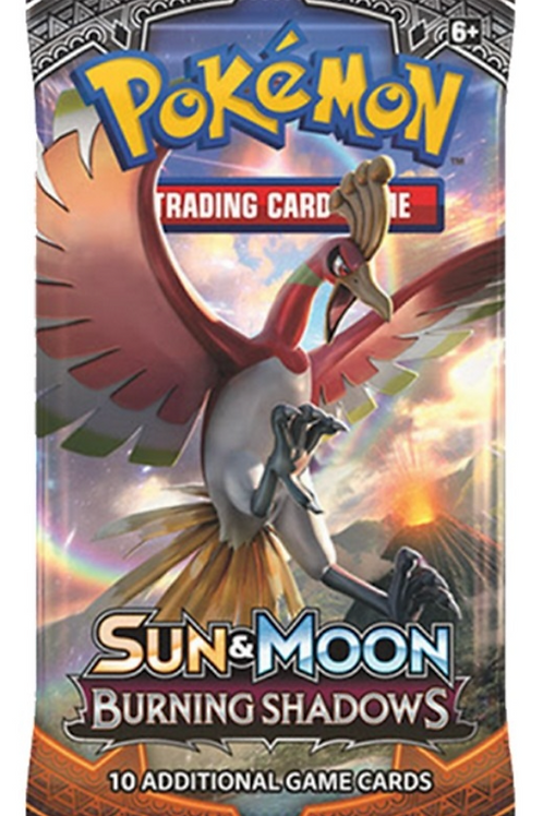 Burning Shadows Booster Pack
