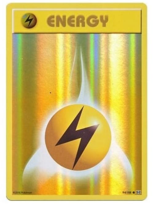 POKEMON XY EVOLUTIONS 094/108 LIGHTNING ENERGY (REVERSE HOLO)