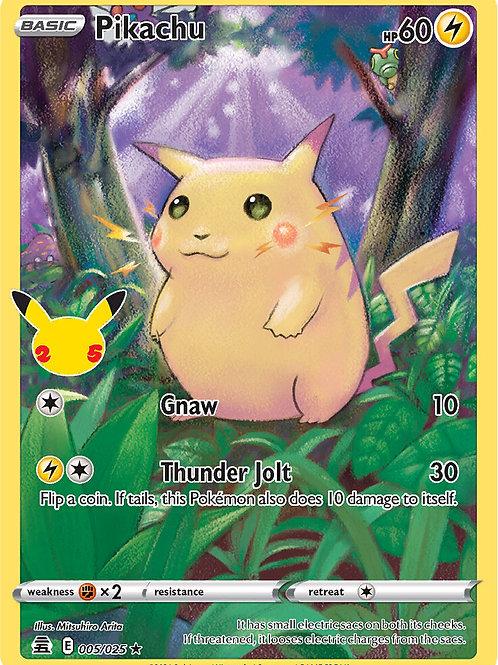 Pikachu 005/025 - Pokemon Celebrations - TCG