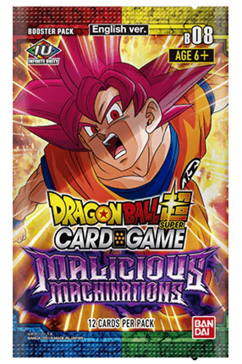 Dragon Ball Super TCG - Malicious Machinations - Booster Pack