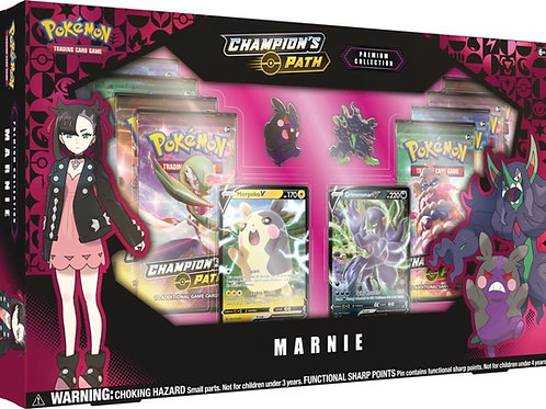 Pokemon TCG: Champion's Path Premium Collection - Marnie