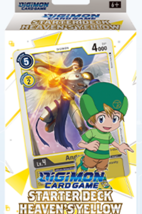Digimon Card Game Starter Deck Heaven's Yellow