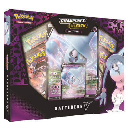 Pokemon Champions Path - Hatterene V Box
