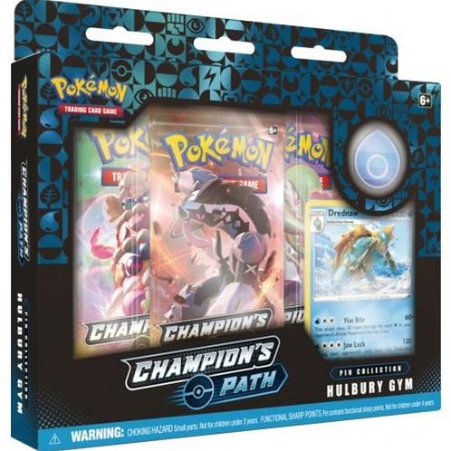 Pokemon Champions Path -Hulbury Gym Pin collection