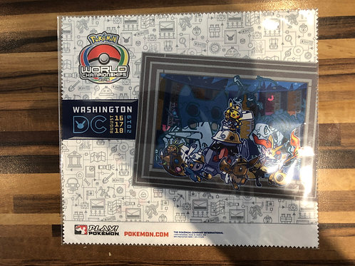 Pokemon World Championships 2019 - Screen Cleaner (picture frame)