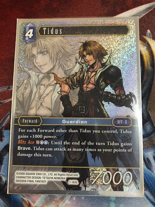 Final Fantasy TCG Opus 1 - Tidus 1-163L - Legendary  (WAVE 1) (MINT)