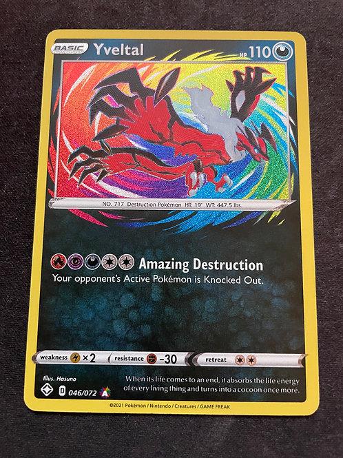 Pokemon - Shining Fates - Yveltal 46/72 (Amazing Rare)