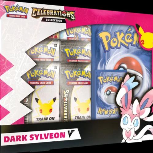 Pokémon Celebrations V Box - Dark Sylveon V