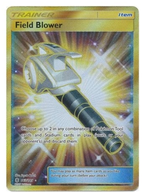 POKEMON SM Guardians Rising 163/145 Field Blower (Secret Rare)