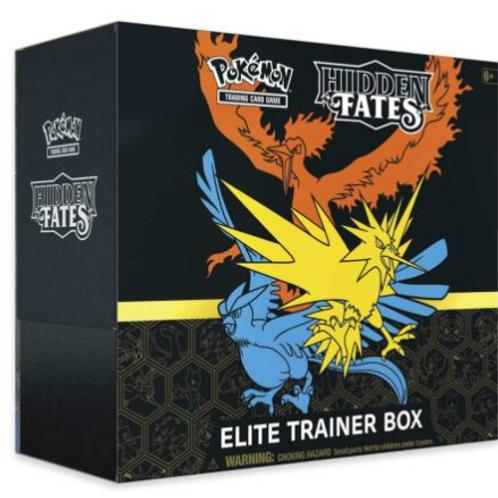 SM Hidden Fates Elite Trainer Box