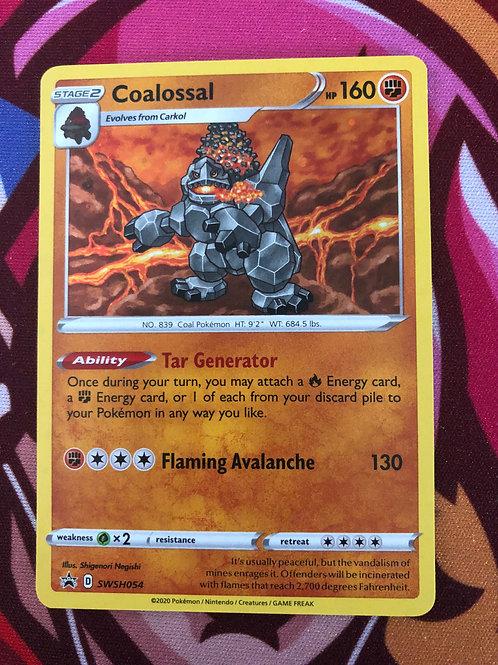 Coalossal SWSH054 Pokemon Champions Path  Holo Promo