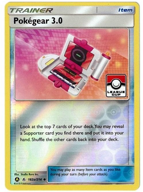 Pokemon Unbroken Bonds LEAGUE PROMO 182A/214 POKEGEAR 3.0 (ALT ART)