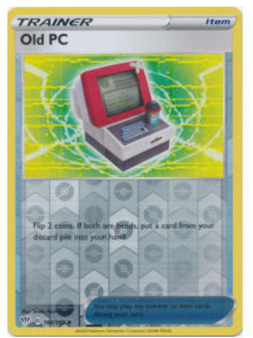 POKEMON DARKNESS ABLAZE #164 Old PC (rev holo)