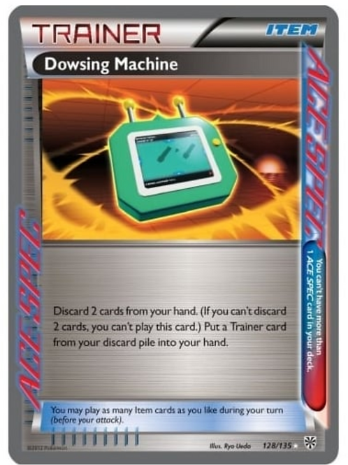 POKEMON PLASMA STORM 128/135 DOWSING MACHINE (ACE SPEC)