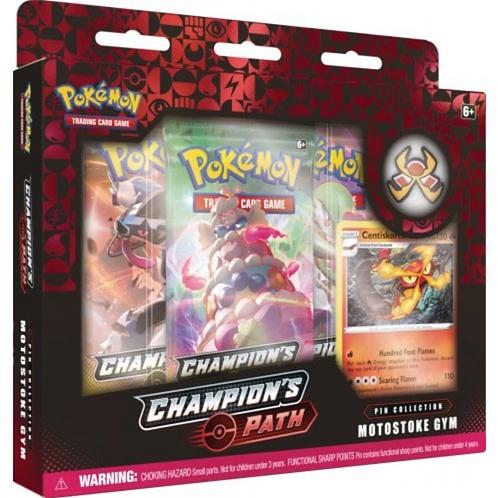 Pokemon Champions Path -Motostoke Gym Pin collection
