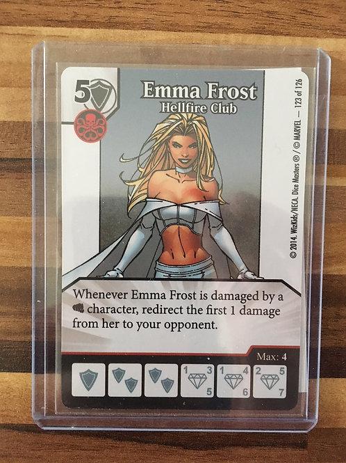 Dice Masters, Uncanny X-Men, Emma Frost – Hellfire Club - Super Rare 123/126