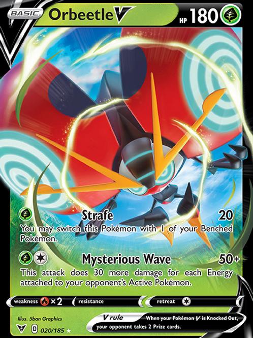Orbeetle V - 020/185 - SWSH Vivid Voltage - Pokemon