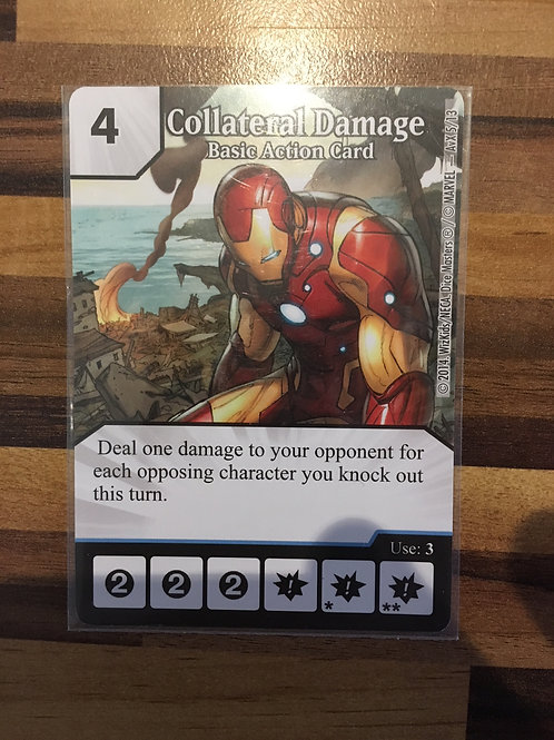 Dice Masters Collateral Damage - Basic Action Card - AvX5/13