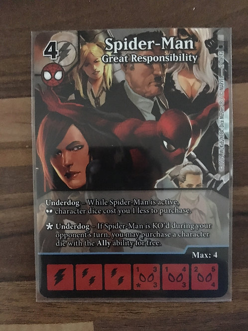 Marvel Dice Masters Amazing Spider-Man - Spider-Man: Great Responsibility #069