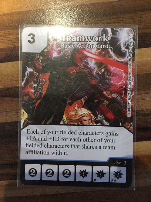 Dice Masters Teamwork - Basic Action Card - OP Tournament Month 1 - AvX1/13