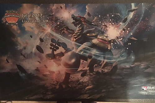 Pokemon Liverpool July 2017 Regional PlayMat