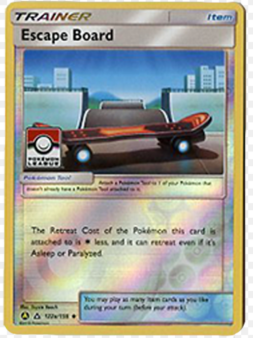 POKEMON SM Ultra Prism 122a/156 Escape Board League Cup Promo (Alt Art)