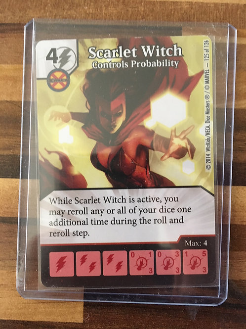 Dice Masters, Uncanny X-Men, Scarlet Witch - Controls Probability - Super Rare