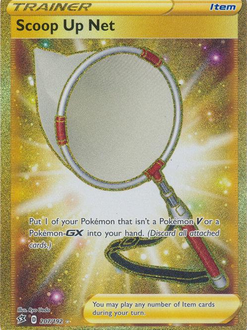 Pokemon SWSH Rebel Clash 207/192  Scoop Up Net  (Gold Secret Rare)