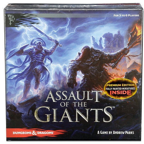Assault of Giants Dungeons & Dragons Premium Edition