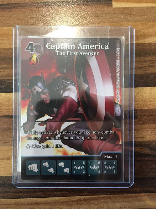 Dice Masters, Age of Ultron, Captain America - The 1st Avenger - PROMO - 5/142