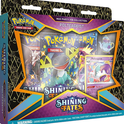Shining Fates - Mad Party Pin - Polteageist