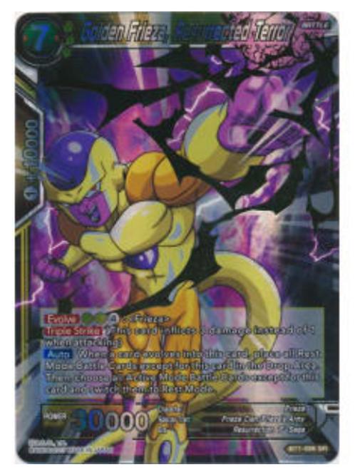 Golden Frieza, Resurrected Terror (Foil) - BT1-086  - Dragon Ball Super TCG