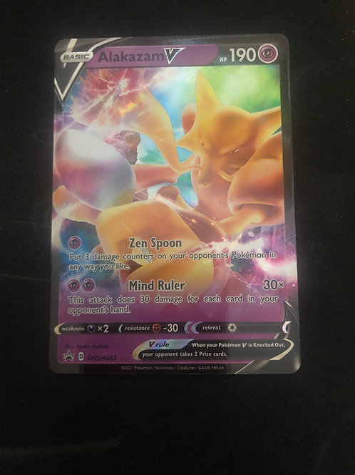 Alakazam V SWSH083 - Pokemon Promo