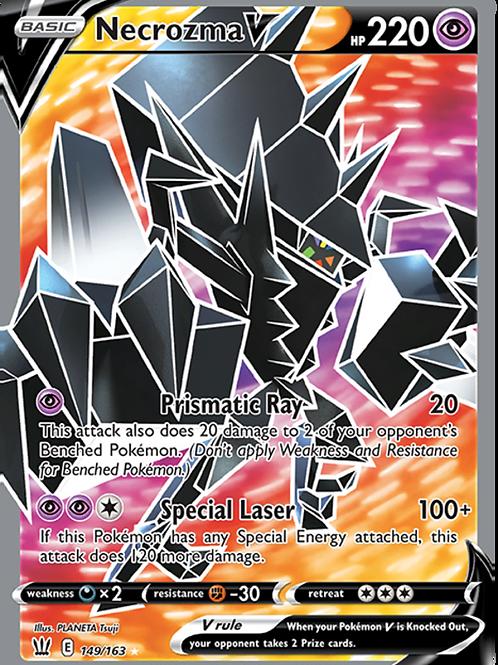 Necrozma V 149/163 - Full Art - Battle Styles - Pokemon