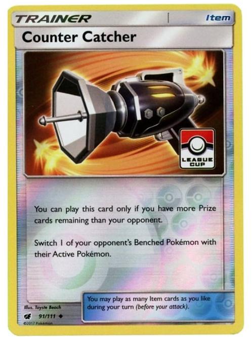 Pokemon League Promo 091/111 Counter Catcher