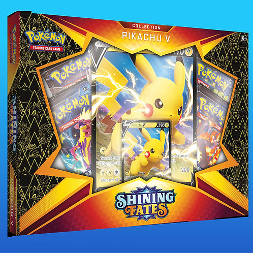 Shining Fates - Pikachu V Box