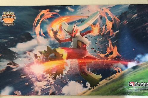 Pokemon Official Play Mat - Blaziken Regional Play mat