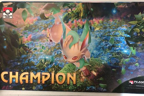 Pokemon Official Play Mat - Leafeon League Champions Mat