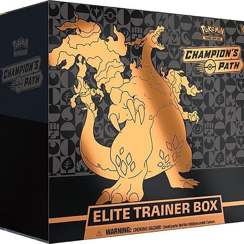 Pokemon Champions Path - Elite Trainer Box