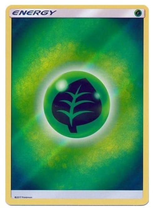 POKEMON Shining Legends Grass Energy (Reverse Holo)