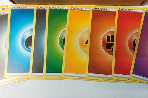 POKEMON Sword & Shield Energy X10 of each colour