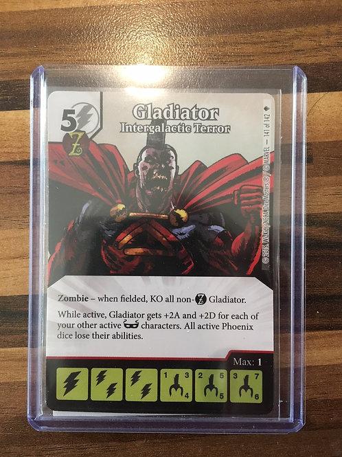 Dice Masters, Age of Ultron, Gladiator Intergalactic Terror - Super Rare 141/142