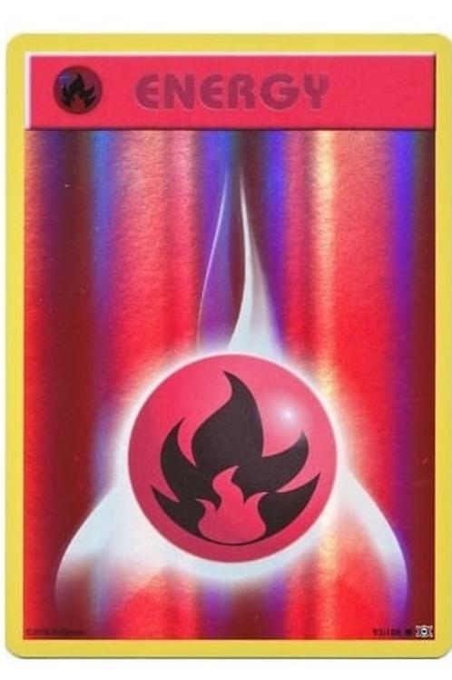 POKEMON XY EVOLUTIONS 092/108 FIRE ENERGY (REVERSE HOLO)