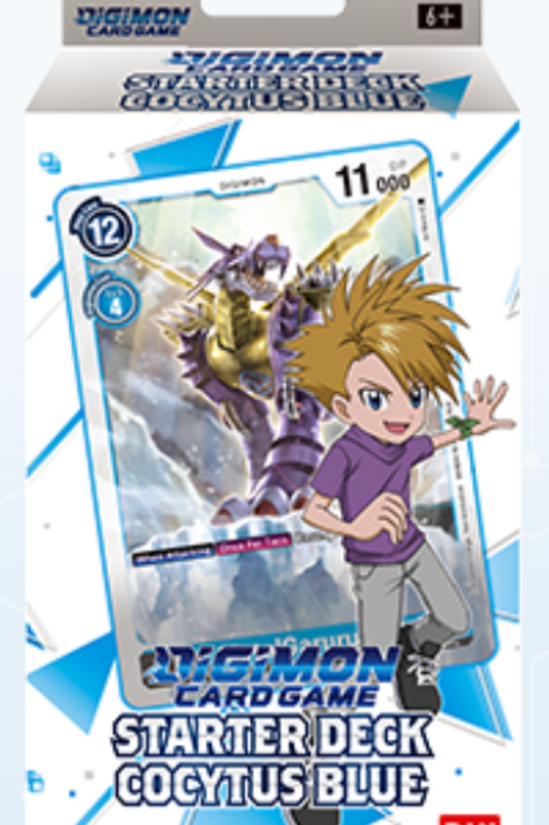 Digimon Card Game Starter Deck Cocytus Blue