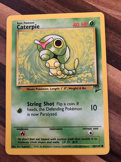 POKEMON BASE SET TWO 068/130 CATERPIE